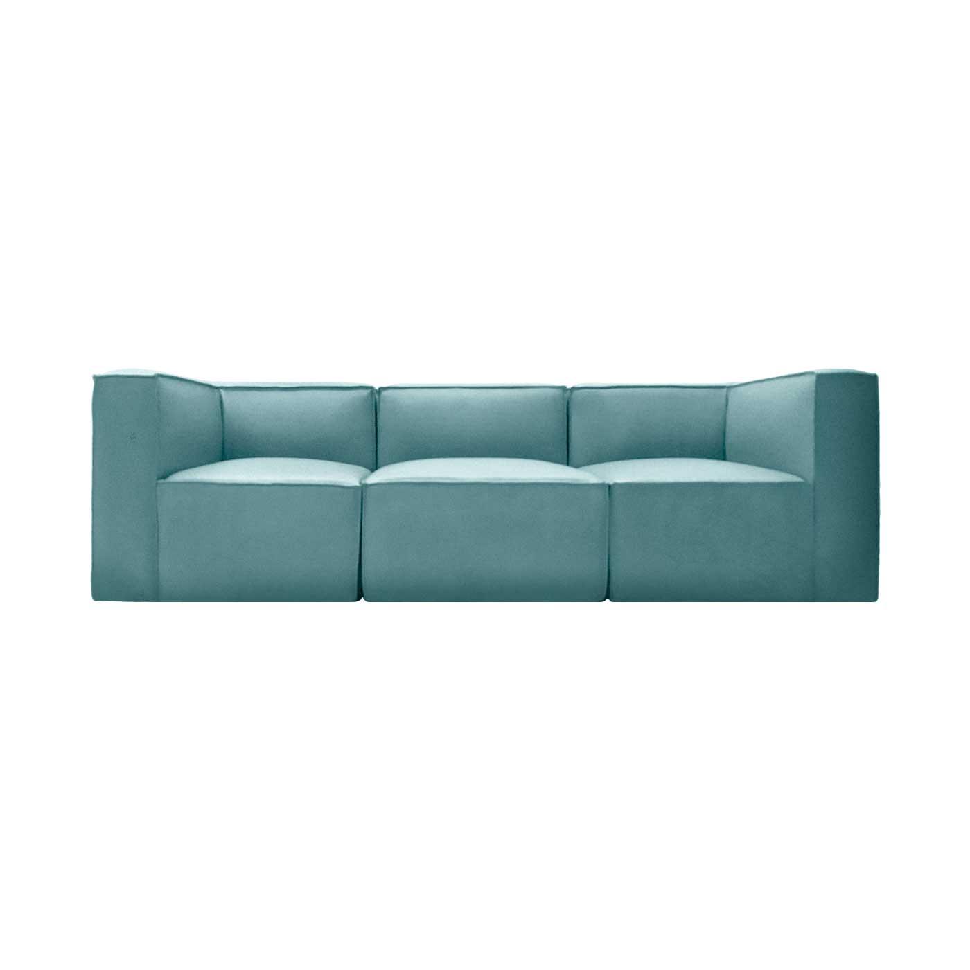 Malmo Aqua Green Sofa & Chaise