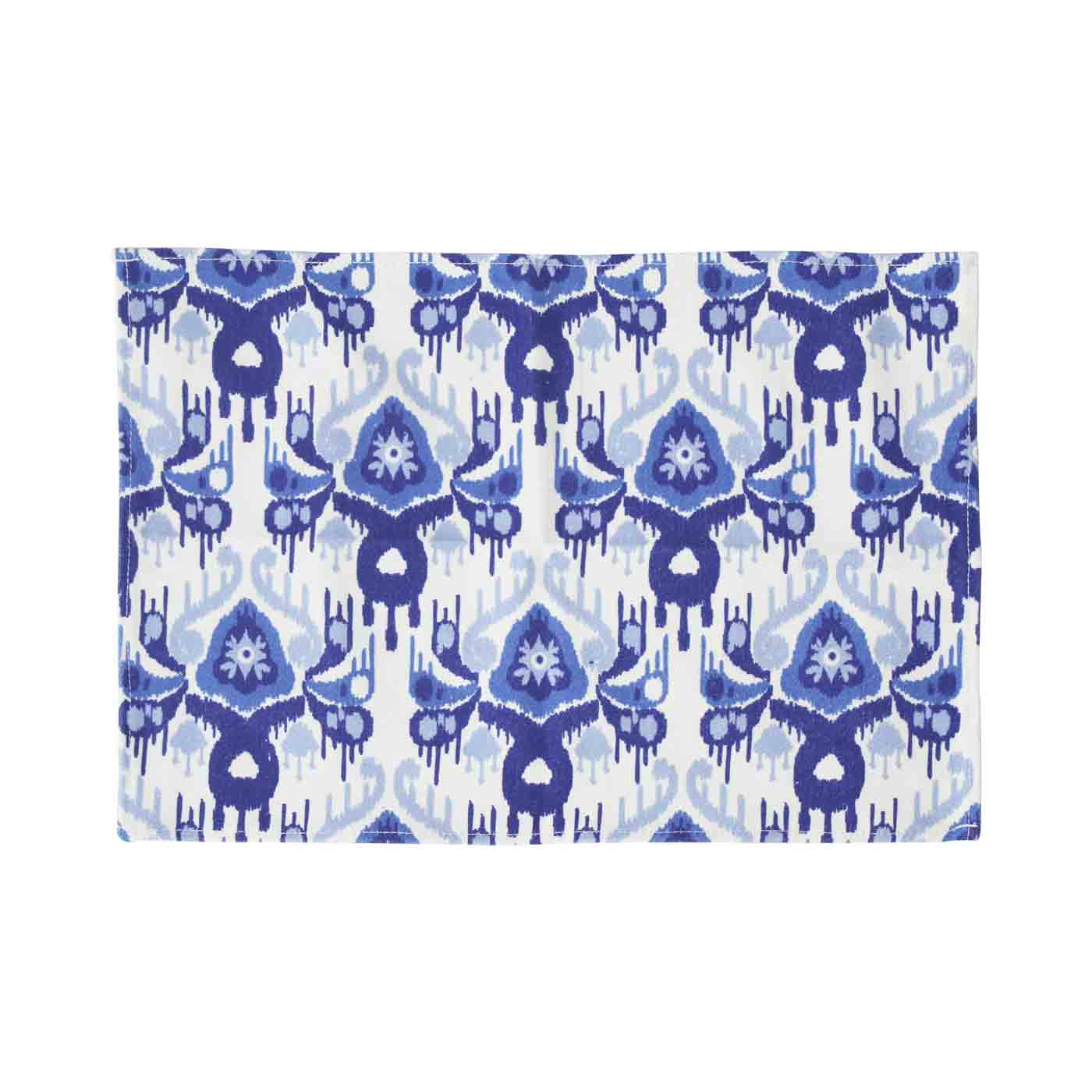 Ikat Blue Placemat Set (Limited Edition)