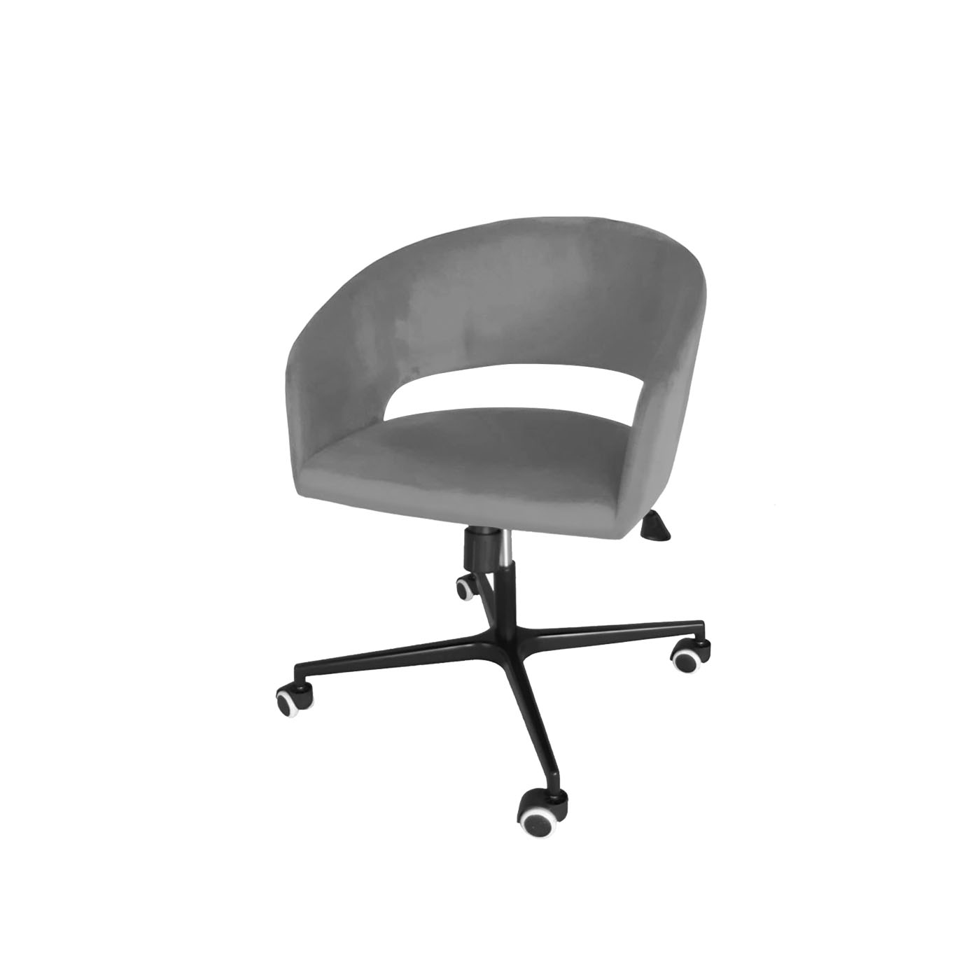 Ostrava Silver Work Chair