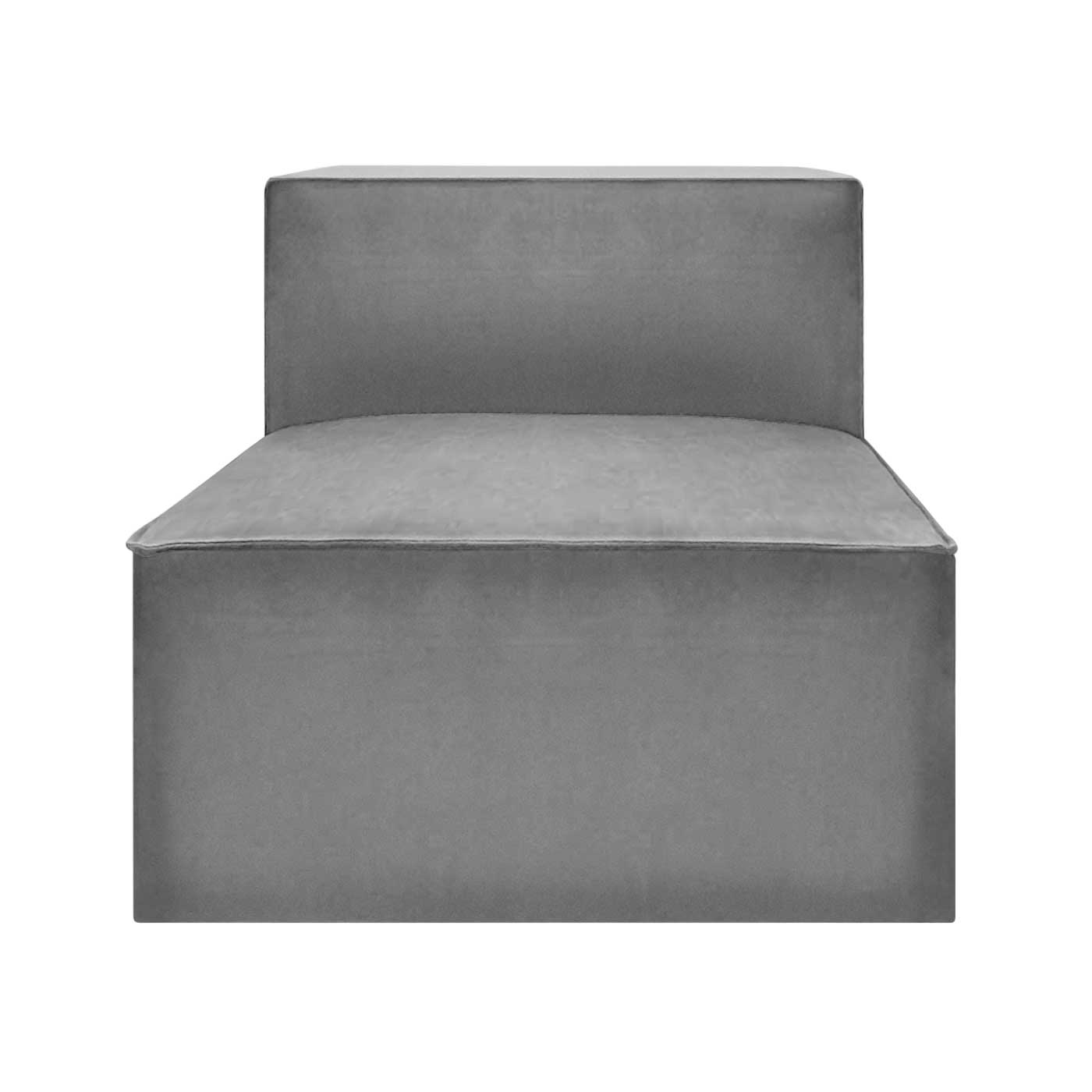 Malmo Silver Backrest Seater