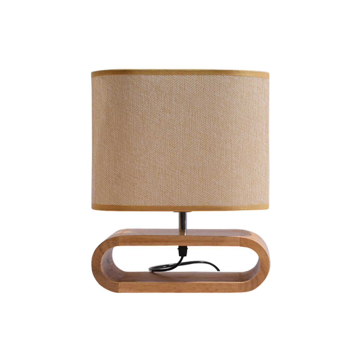 Woodbase Table Lamp