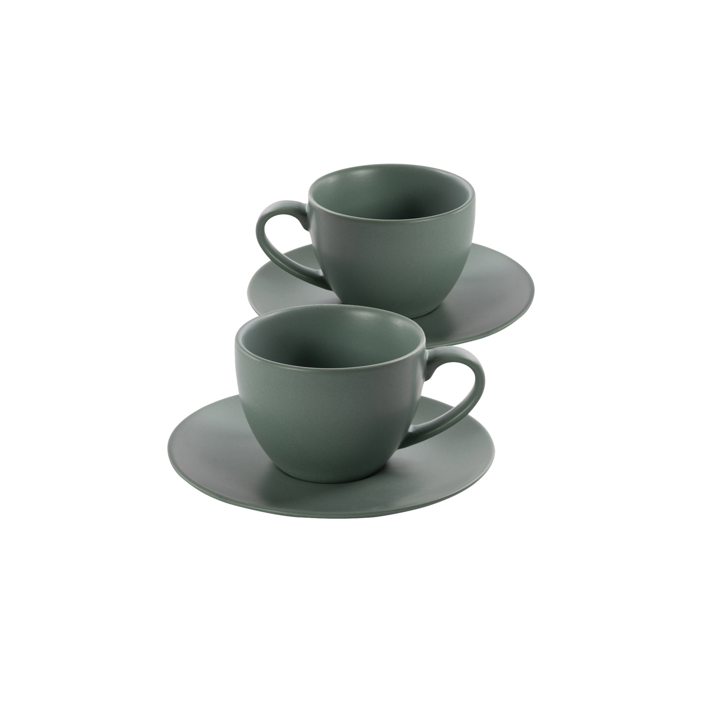 Green Ceramic Tea Sets