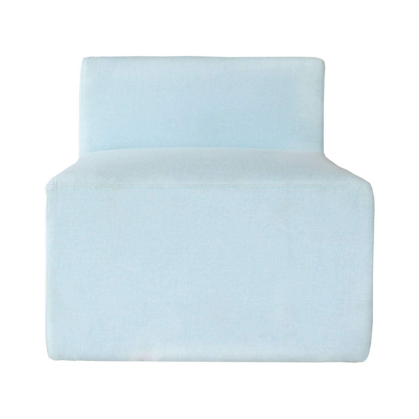 Malmö Classic Light Blue Back Rest Seater (Clearance)
