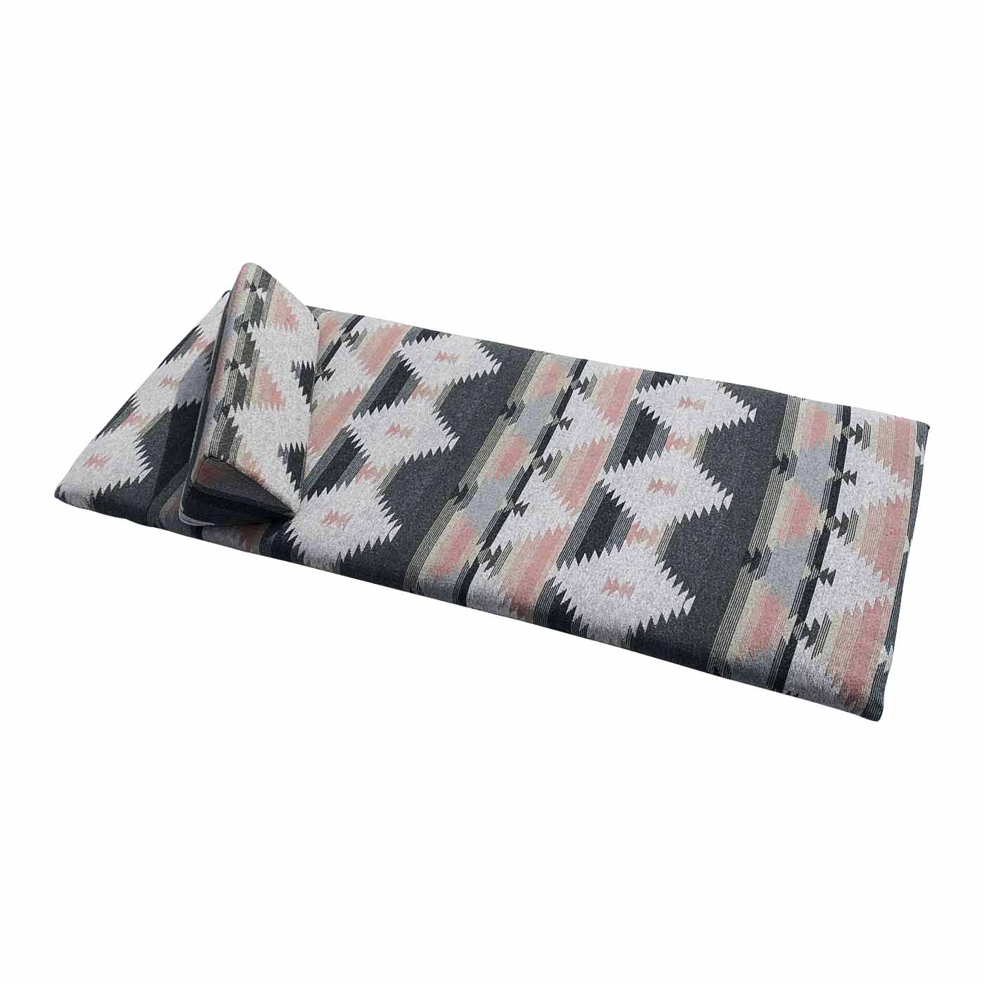 Nador Pink Patterned Floor Mattress