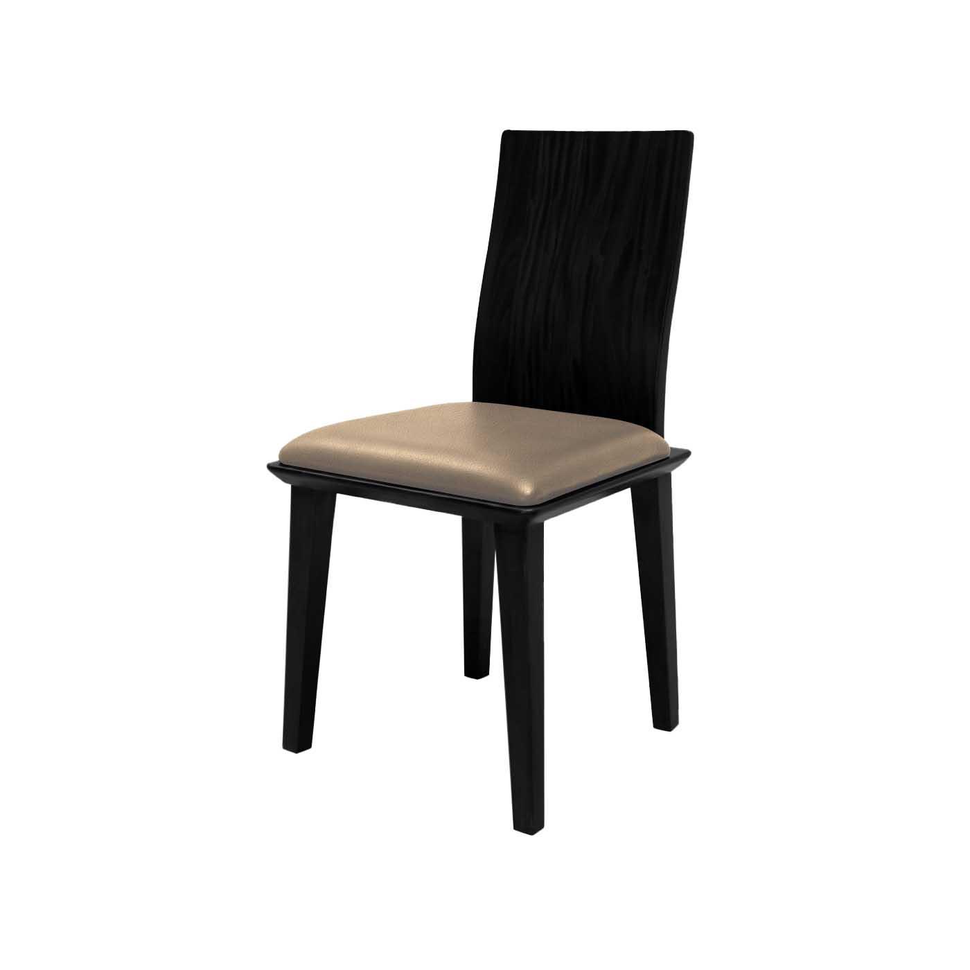 Mukō Tan Black Chair