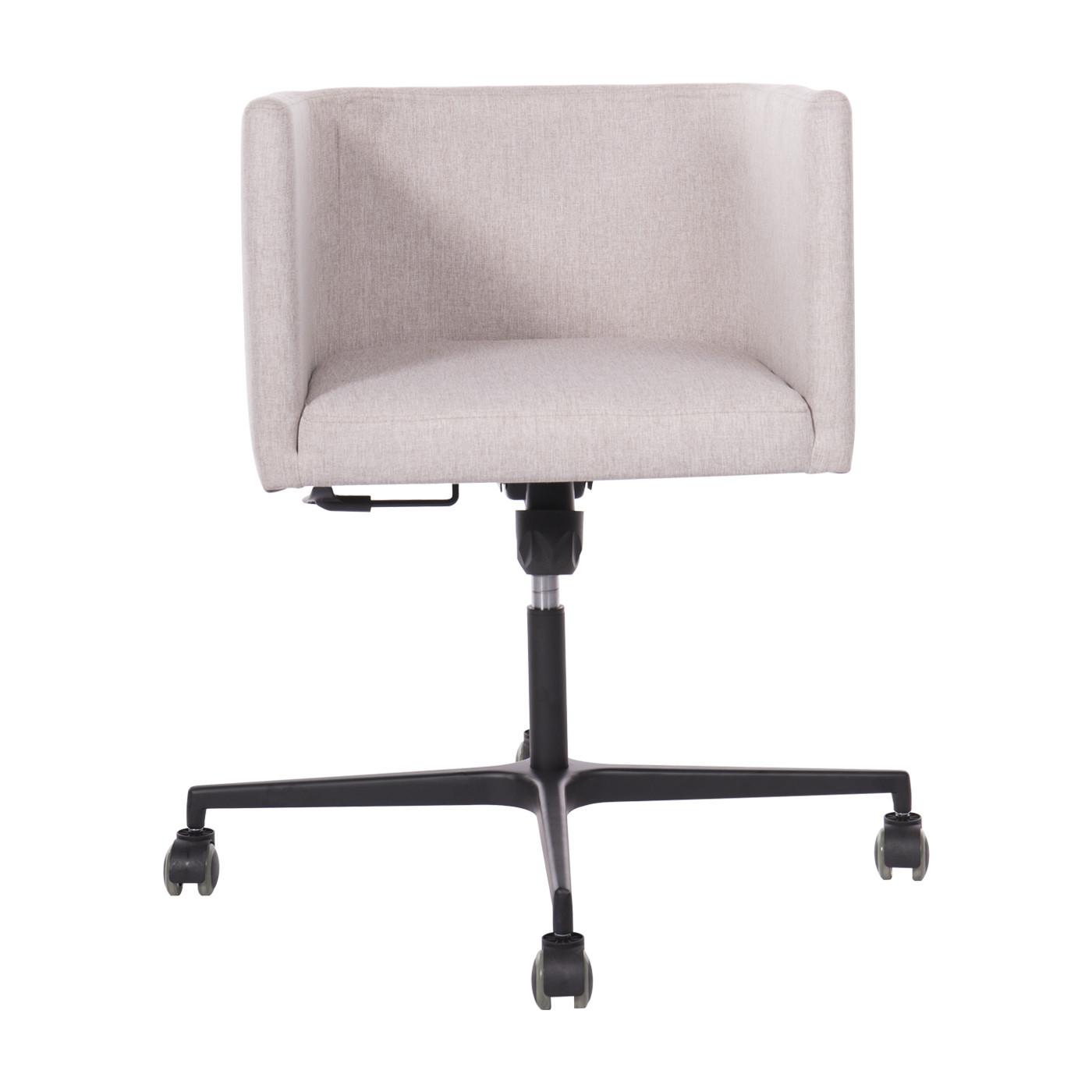 Dalian Grey Black Office Chair