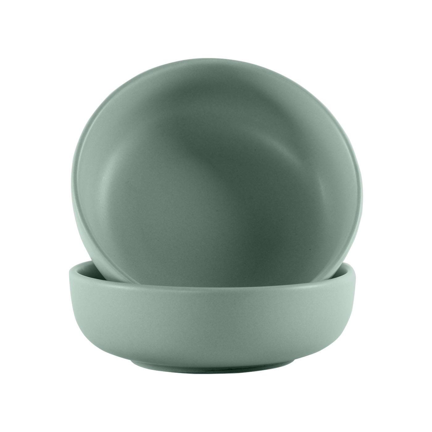 Green Ceramic Large Bowls