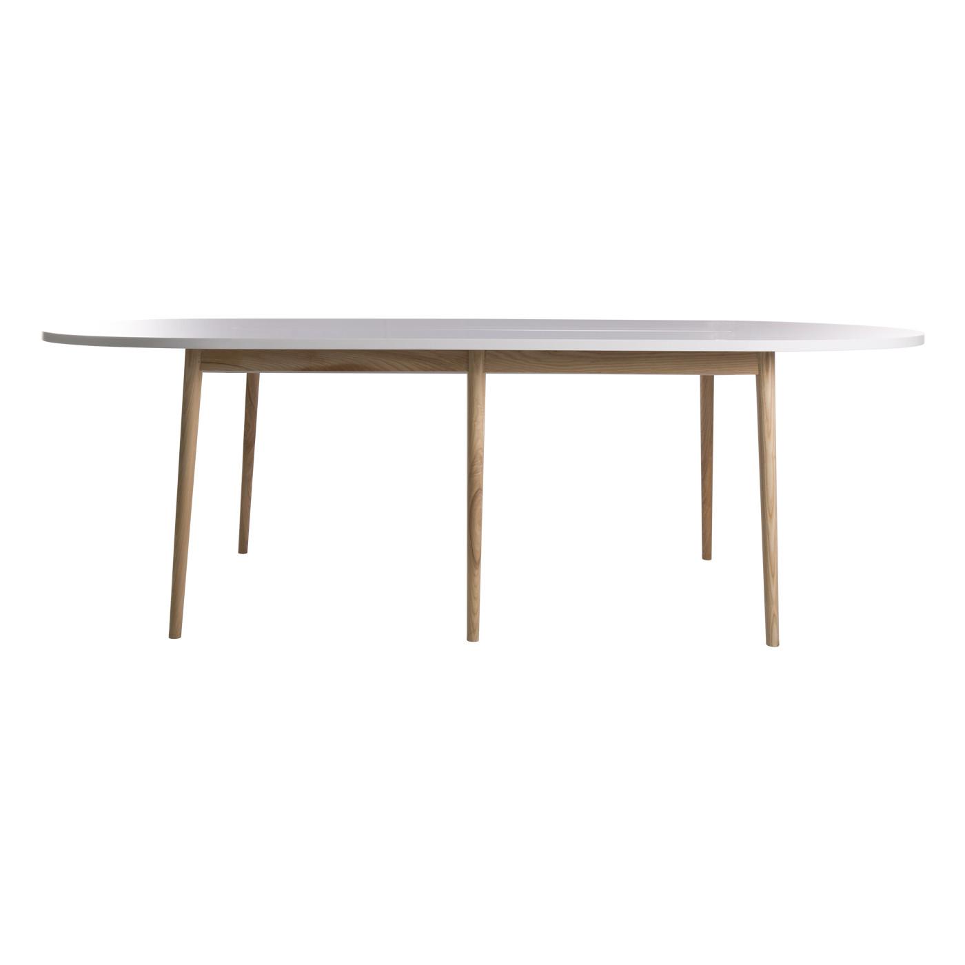Dalian White Conference Table