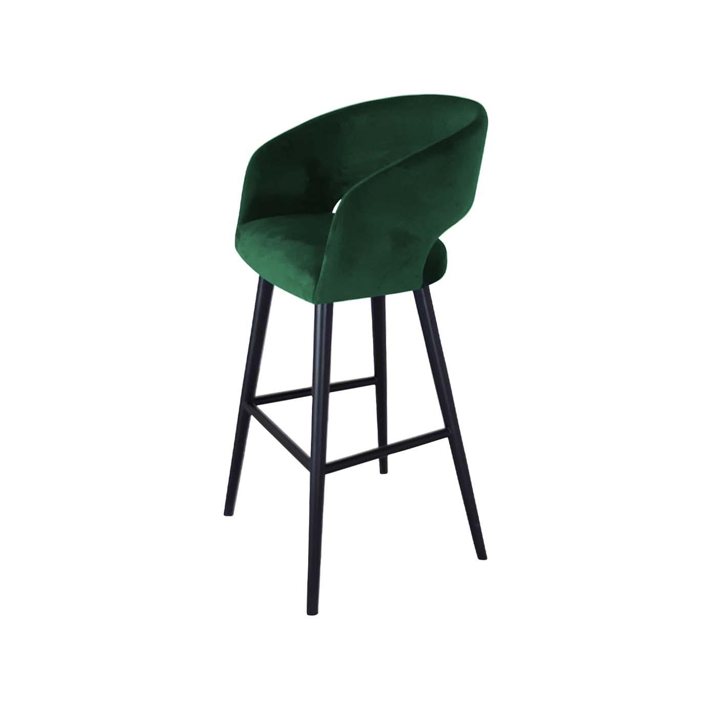 Ostrava Green Bar Chair