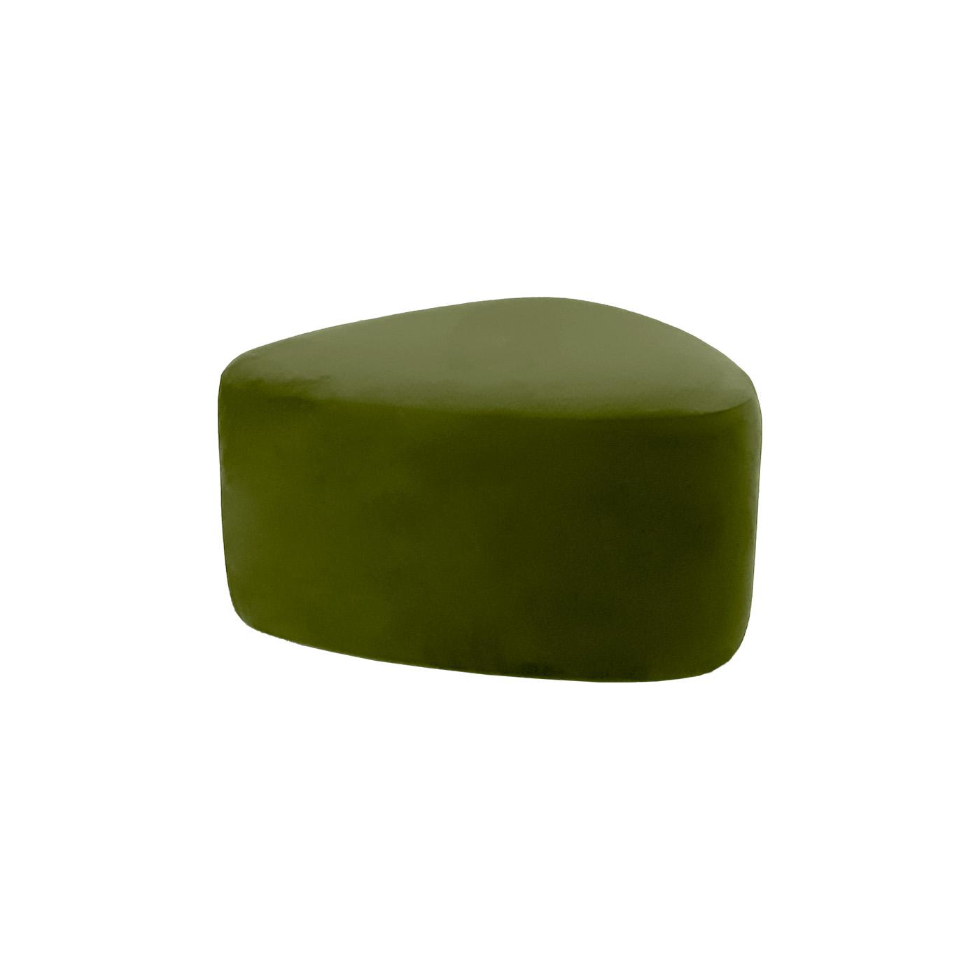 Pebble Olive Large Ottoman
