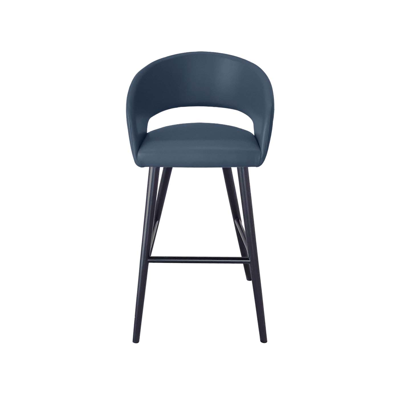 Ostrava Blue Bar Chair