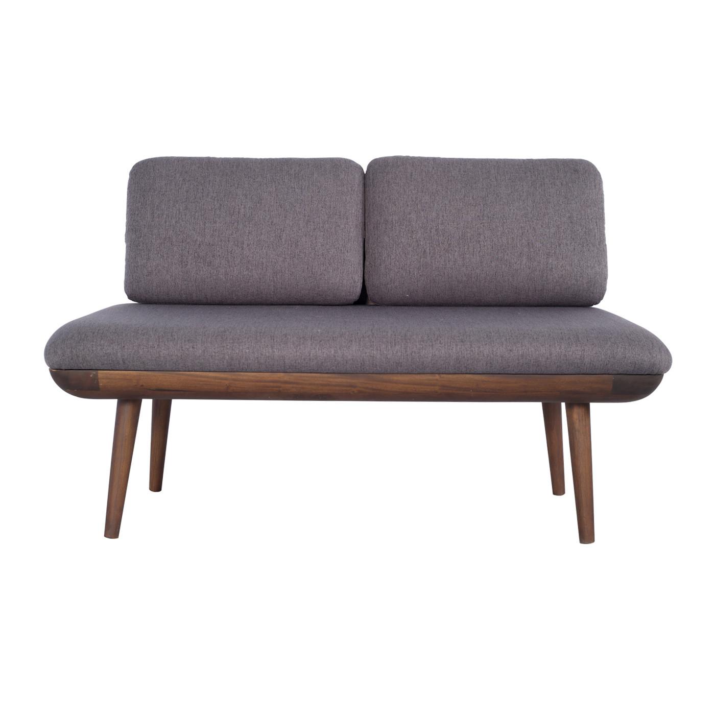 Bushwick Dark Grey Dark Double Sofa