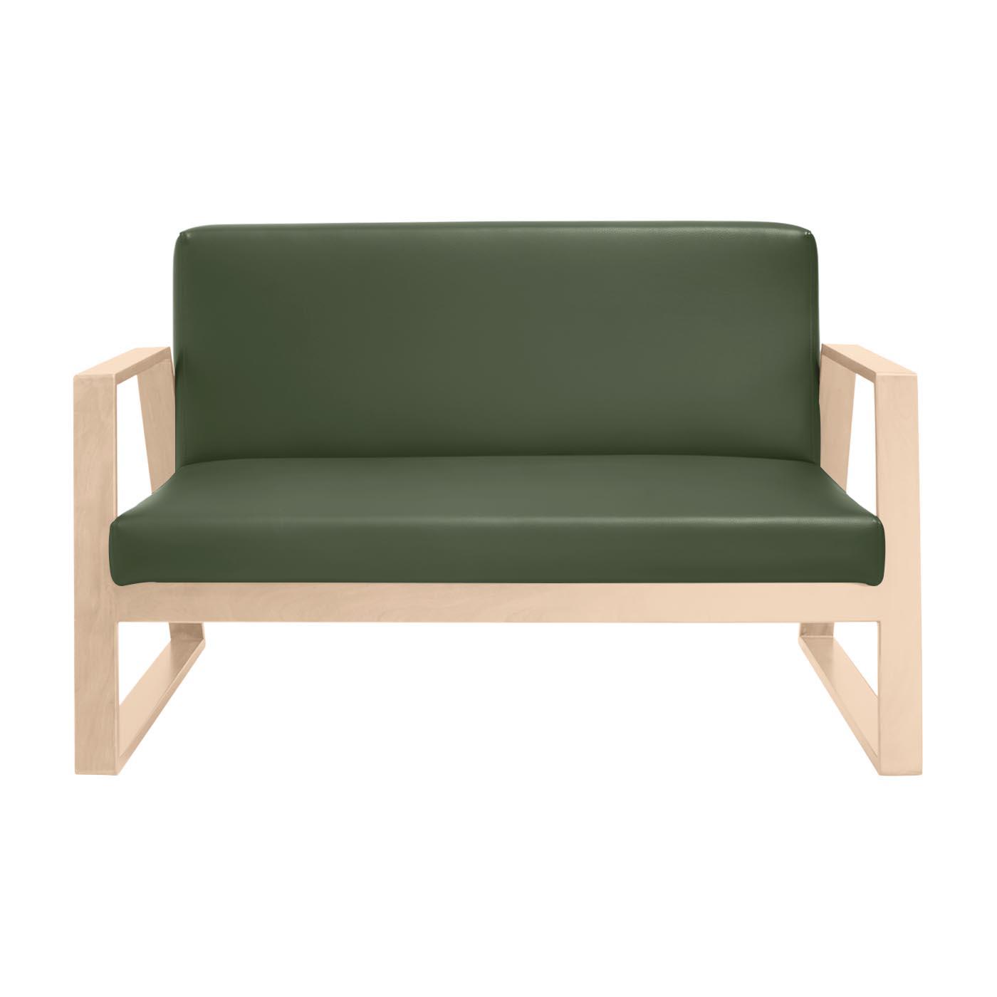 Mukō Green Light Double Sofa