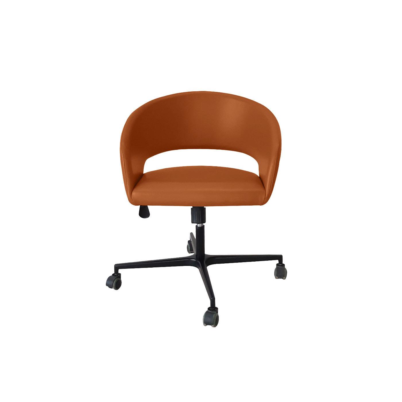 Ostrava Brown Work Chair