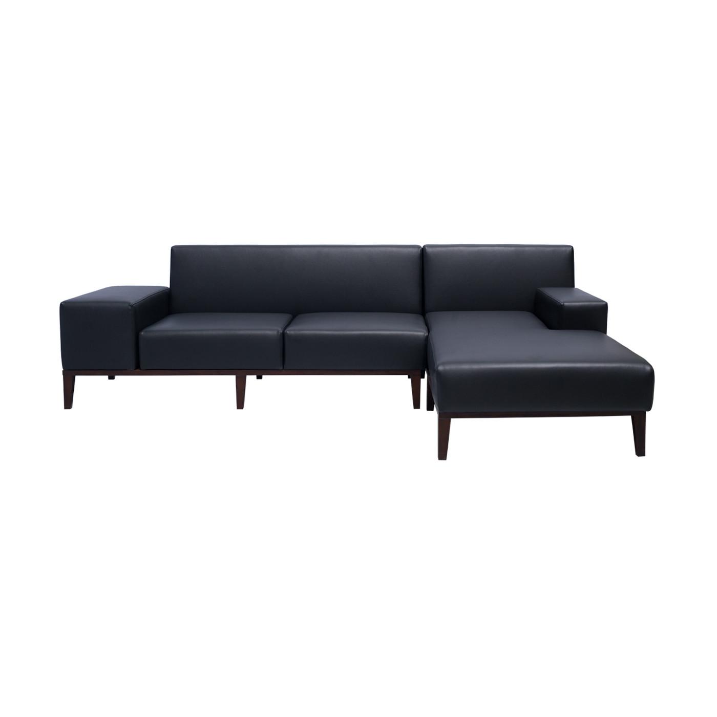 SoHo Black Dark Sofa