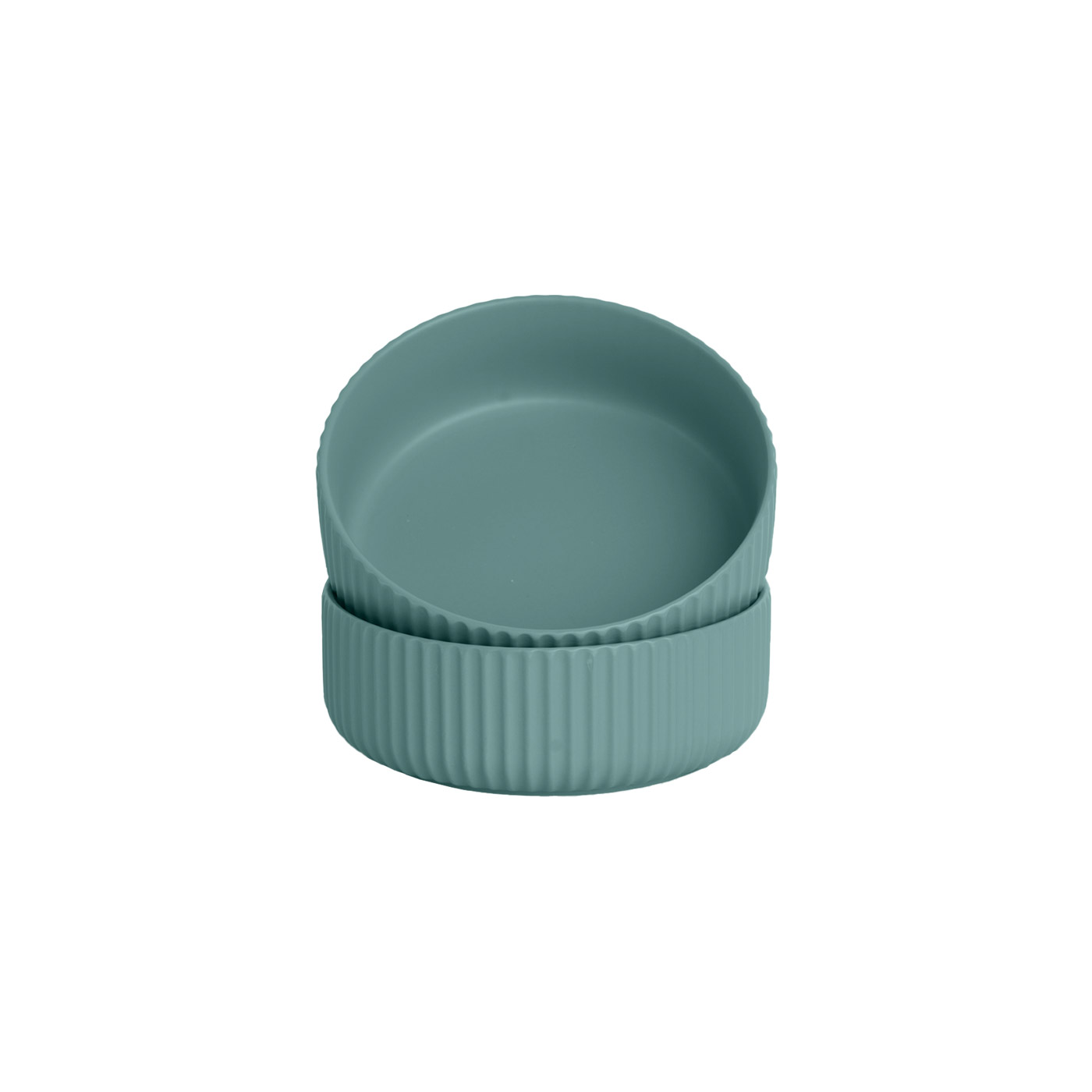 Ribbet Green Small Bowl, Set of Two