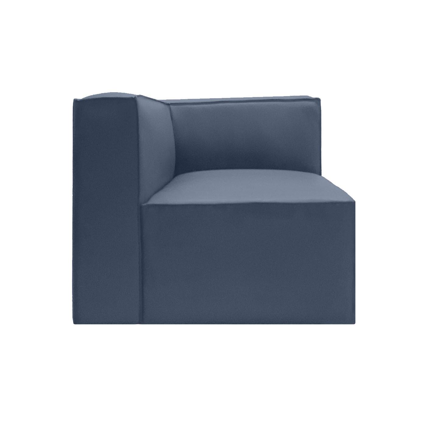 Malmo Blue Right Hand Corner Seater
