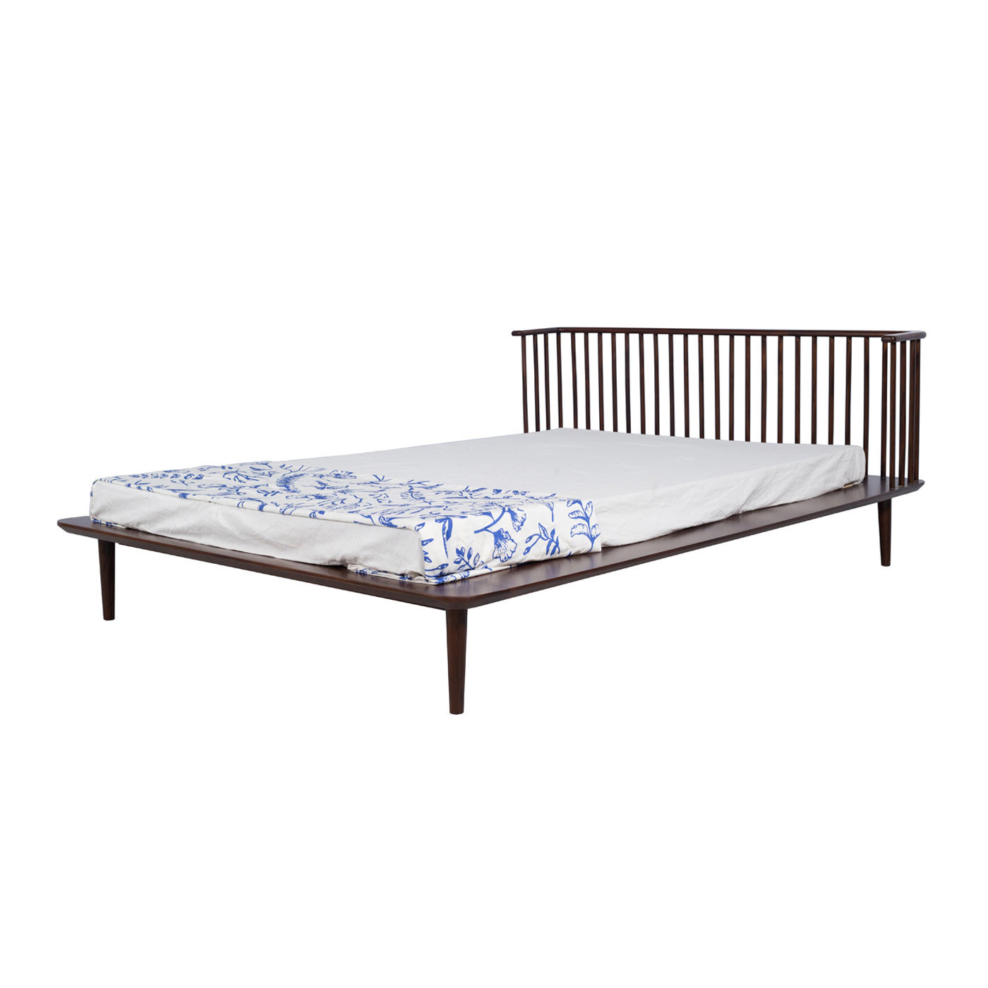 Jorasanko Dark Queen Bed