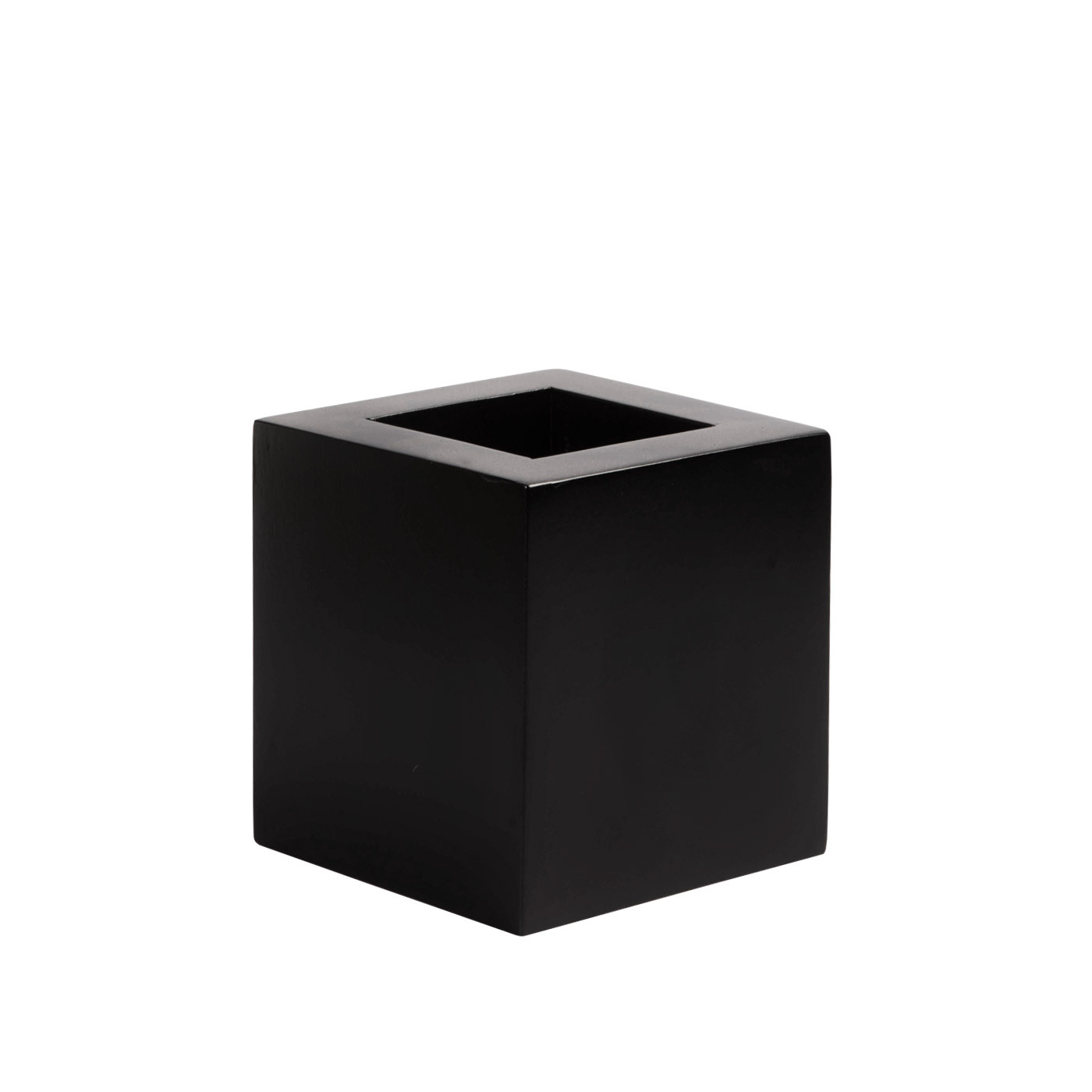 Mukō Short Planter Black