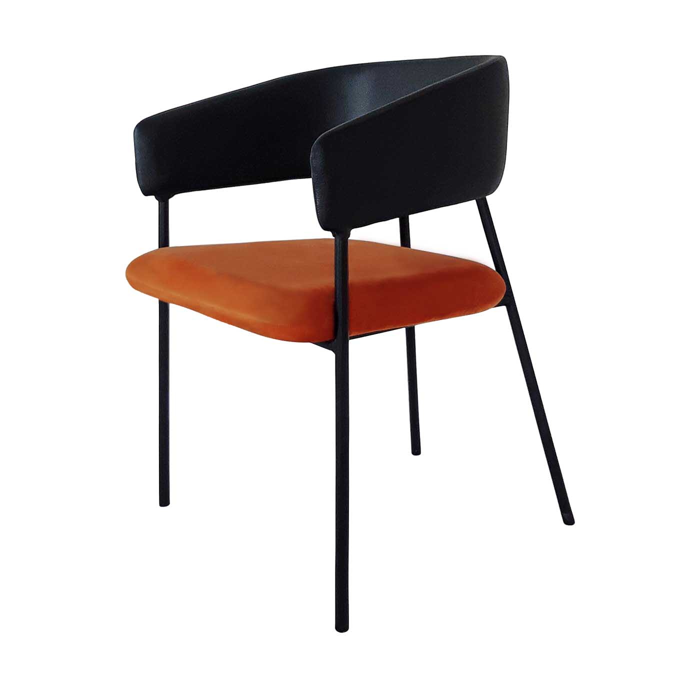 Navigli Orange Slim Chair