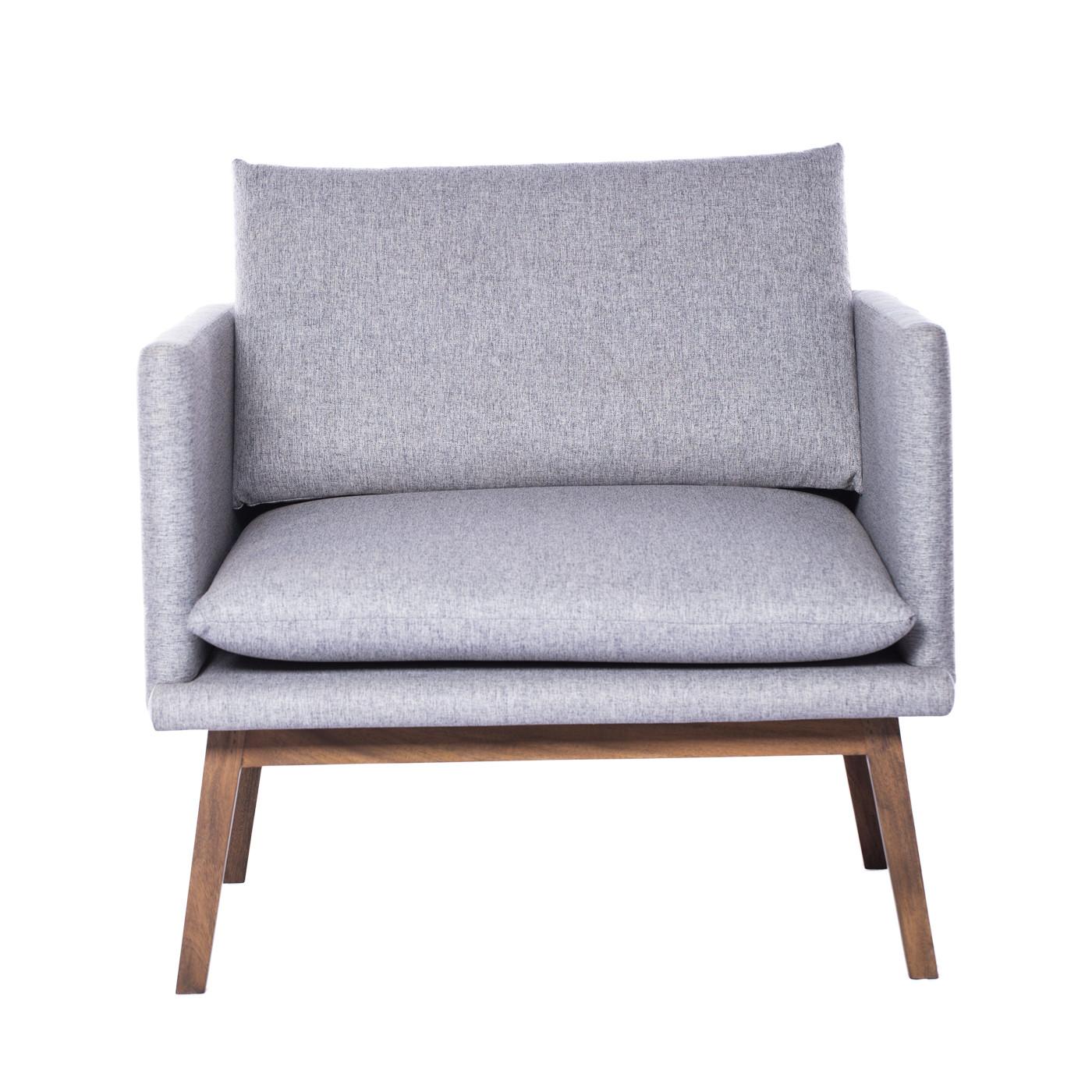 Vesterbro Grey Dark Single Sofa (Clearance)