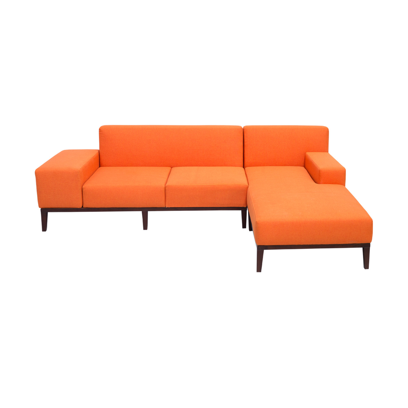 SoHo Orange Sofa